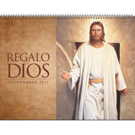 God's Gift w/o Funeral Preplan Calendar with Your Slogan