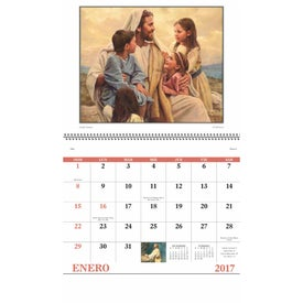 God's Gift w/o Funeral Preplan Calendar Imprinted with Your Logo