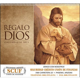 God's Gift w/o Funeral Preplan Calendar (Spanish, 2017)