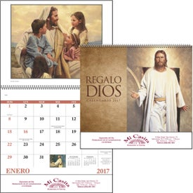 Gods Gift w/ Funeral Sheet Calendar for Promotion