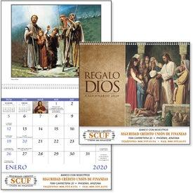 Gods Gift w/ Funeral Sheet Calendar (Spanish, 2017)