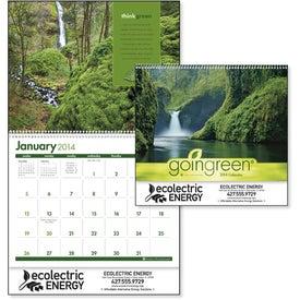 Imprinted goingreen Calendar