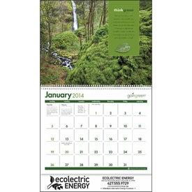 Monogrammed goingreen Calendar