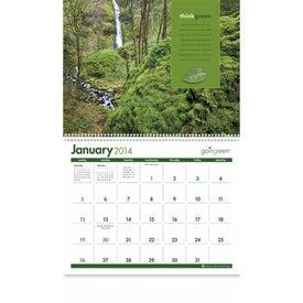 goingreen Calendar with Your Logo