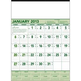 Custom Going Green Contractor Calendar