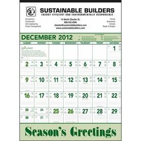 Going Green Contractor Calendar for Your Organization