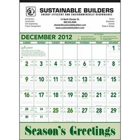 Going Green Contractor Calendar for Your Organization