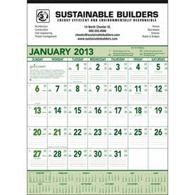 Going Green Contractor Calendar