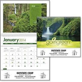 Advertising goingreen Pocket Calendar