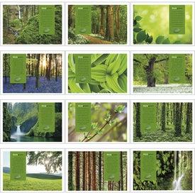 Custom goingreen Pocket Calendar