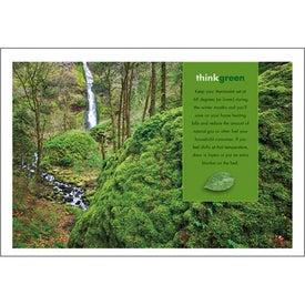 goingreen Pocket Calendar Printed with Your Logo