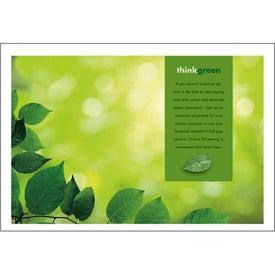 Branded goingreen Pocket Calendar