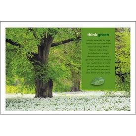 Personalized goingreen Pocket Calendar