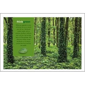 goingreen Pocket Calendar for Advertising