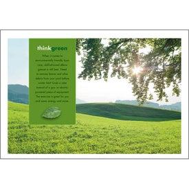 goingreen Pocket Calendar for Promotion