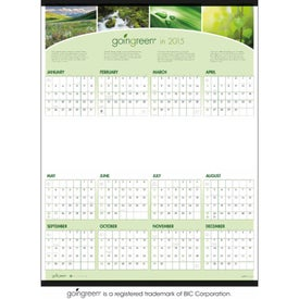 goingreen Span-A-Year Calendar for your School