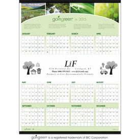 goingreen Span-A-Year Calendar for Your Company