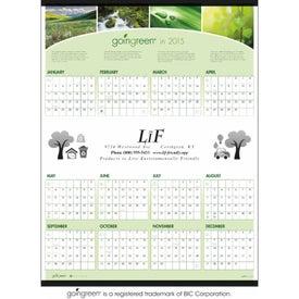 goingreen Span-A-Year Calendar (2017)