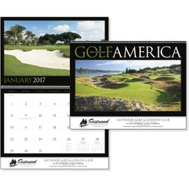 Golf America Executive Calendar for Marketing