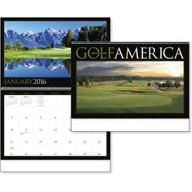 Golf America Executive Calendar with Your Logo