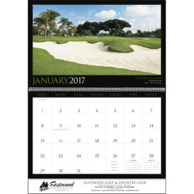 Imprinted Golf America Executive Calendar