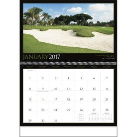 Golf America Executive Calendar for Advertising