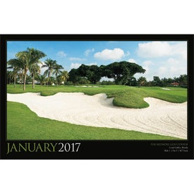 Customized Golf America Executive Calendar