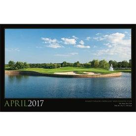 Imprinted Golf America Executive Calendar