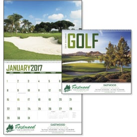 Branded Golf Appointment Calendar