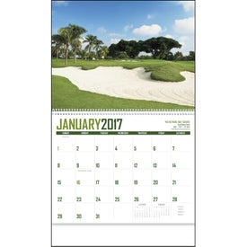 Golf Appointment Calendar for Marketing