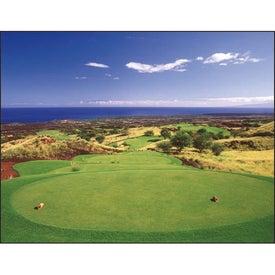 Advertising Golf Appointment Calendar