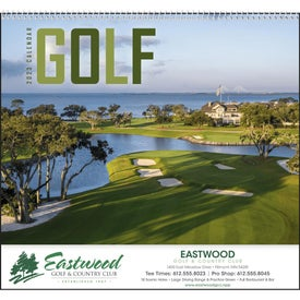 Golf Appointment Calendar (2017)