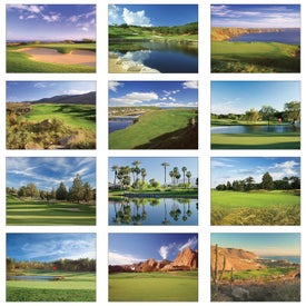 Company Golf Wall Calendar
