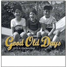 Branded Good Old Days - Spiral Calendar