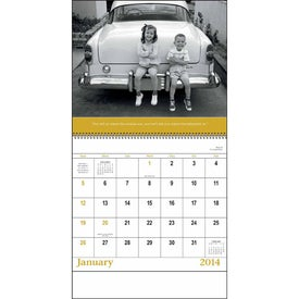 Customized Good Old Days - Spiral Calendar