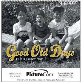 Promotional Good Old Days - Spiral Calendar