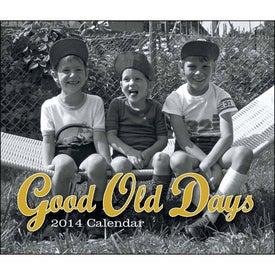 Printed Good Old Days - Stapled Calendar
