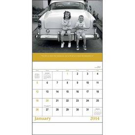 Good Old Days - Stapled Calendar with Your Logo