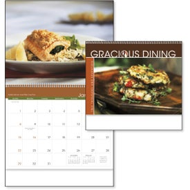 Gracious Dining Appointment Calendar for Customization