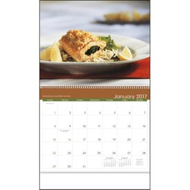 Gracious Dining Appointment Calendar Imprinted with Your Logo