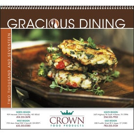Gracious Dining Appointment Calendar for Advertising