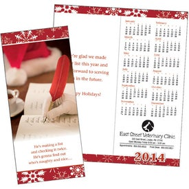 Greet 'n' Keep Calendar Card for your School