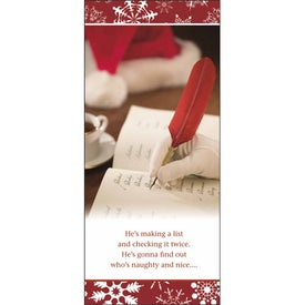 Customized Greet 'n' Keep Calendar Card