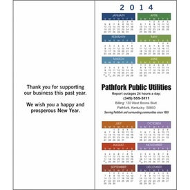 Greet 'n' Keep Calendar Card for Your Organization