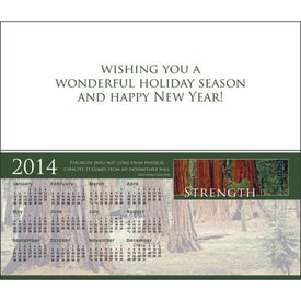 Greet 'n' Keep Calendar Card Printed with Your Logo