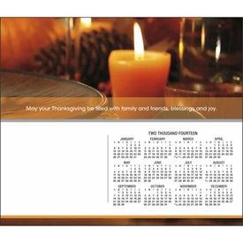 Greet 'n' Keep Calendar Card for Customization