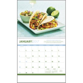 Imprinted Healthy Eating Appointment Calendar
