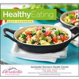 Healthy Eating Appointment Calendar with Your Logo