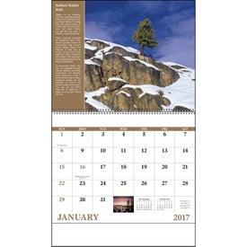 Customized Healthy Living Spiral Calendar