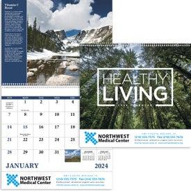 Healthy Living Calendar (2021, Spiral)